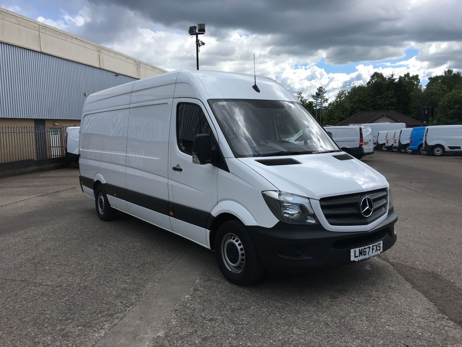 2017 Mercedes-Benz Sprinter 314 CDI LWB HIGH ROOF VAN EURO 6 (LM67FXS)