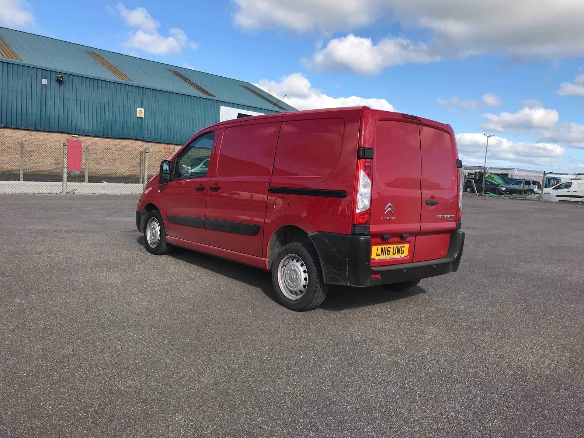 2016 Citroen Dispatch L1 DIESEL 1000 1.6 HDI H1 VAN ENTERPRISE EURO 4/5. AIR CON, SAT NAV (LN16UWG) Image 5