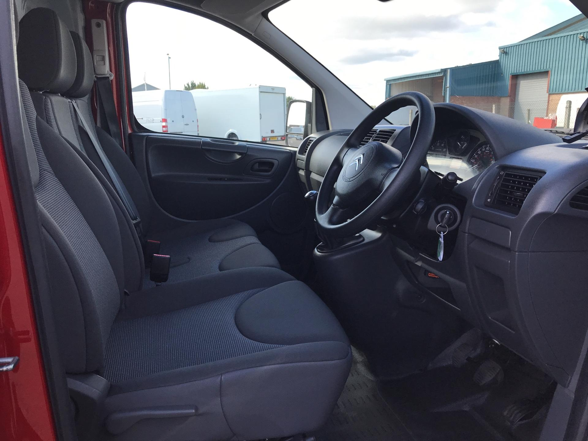 2016 Citroen Dispatch L1 DIESEL 1000 1.6 HDI H1 VAN ENTERPRISE EURO 4/5. AIR CON, SAT NAV (LN16UWG) Image 9