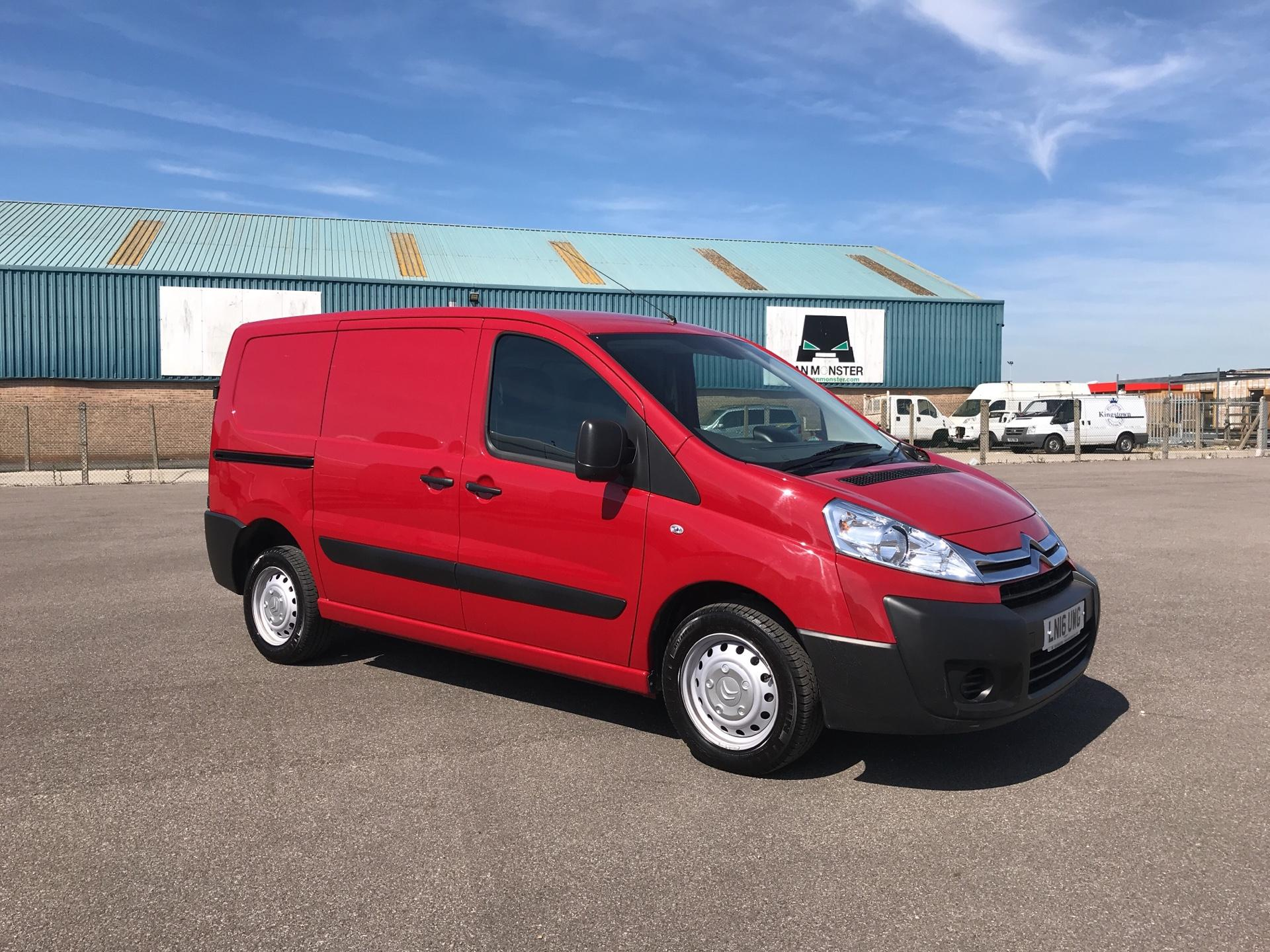 2016 Citroen Dispatch L1 DIESEL 1000 1.6 HDI H1 VAN ENTERPRISE EURO 4/5. AIR CON, SAT NAV (LN16UWG) Image 1