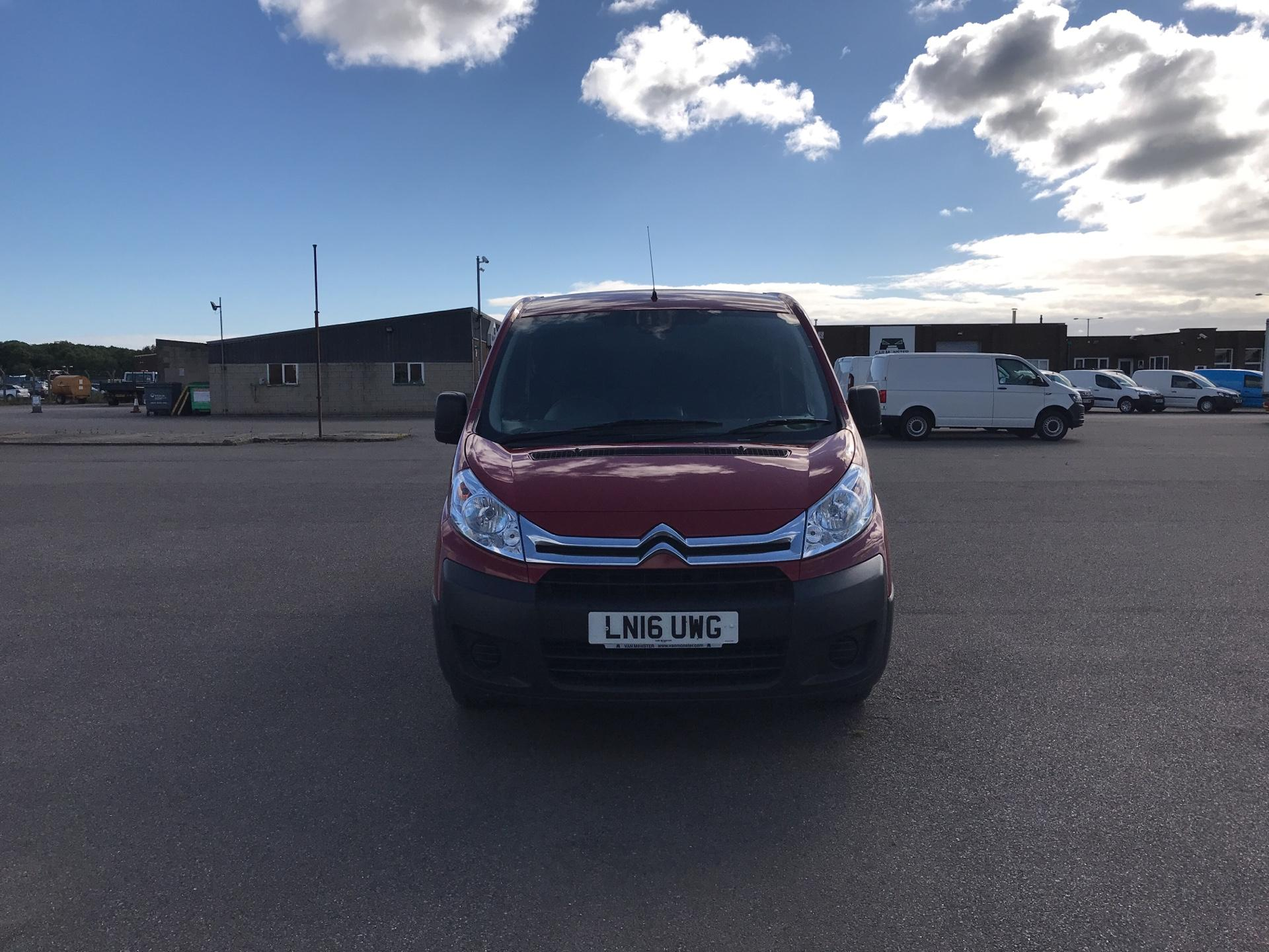 2016 Citroen Dispatch L1 DIESEL 1000 1.6 HDI H1 VAN ENTERPRISE EURO 4/5. AIR CON, SAT NAV (LN16UWG) Image 8