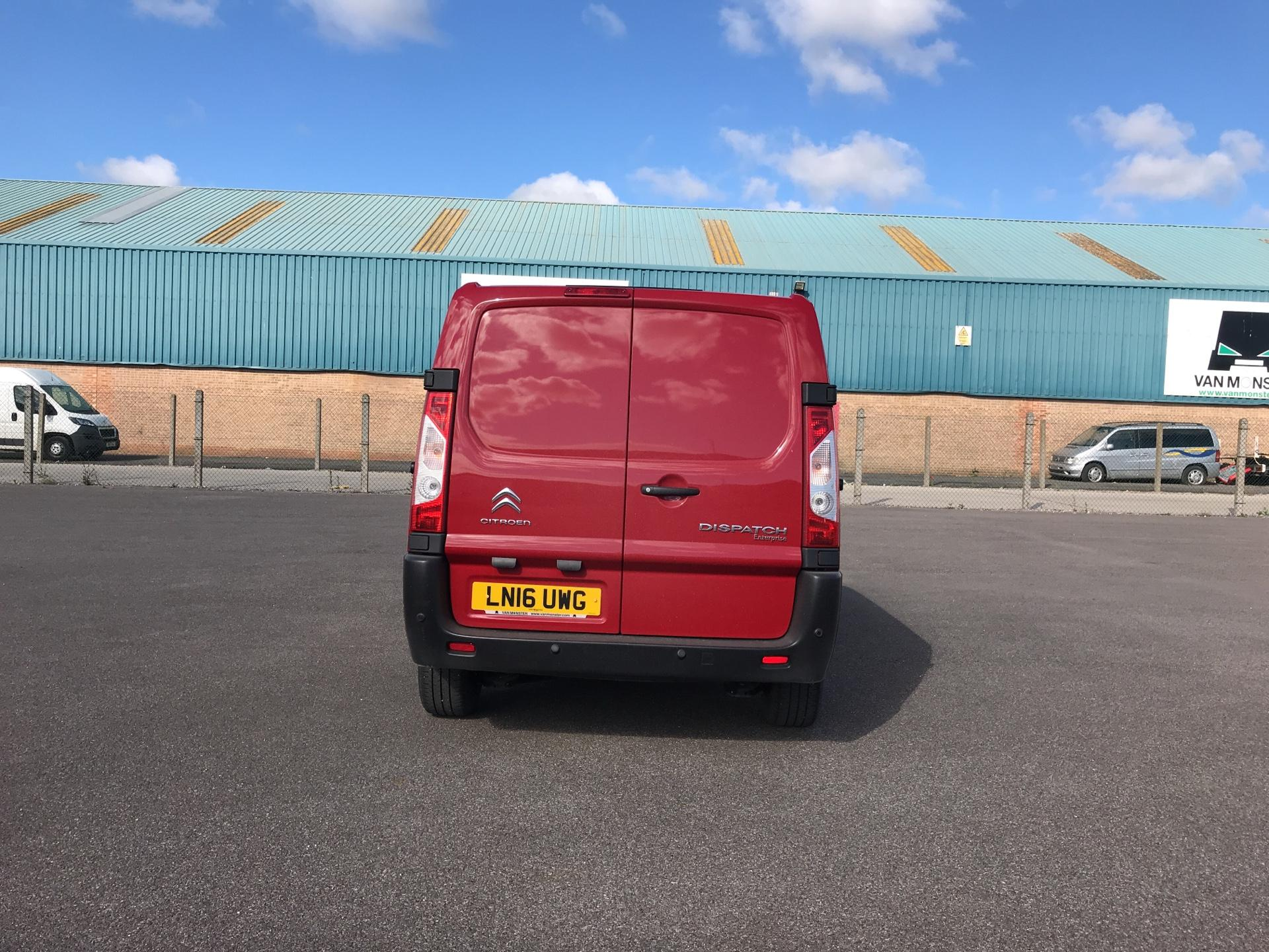 2016 Citroen Dispatch L1 DIESEL 1000 1.6 HDI H1 VAN ENTERPRISE EURO 4/5. AIR CON, SAT NAV (LN16UWG) Image 4