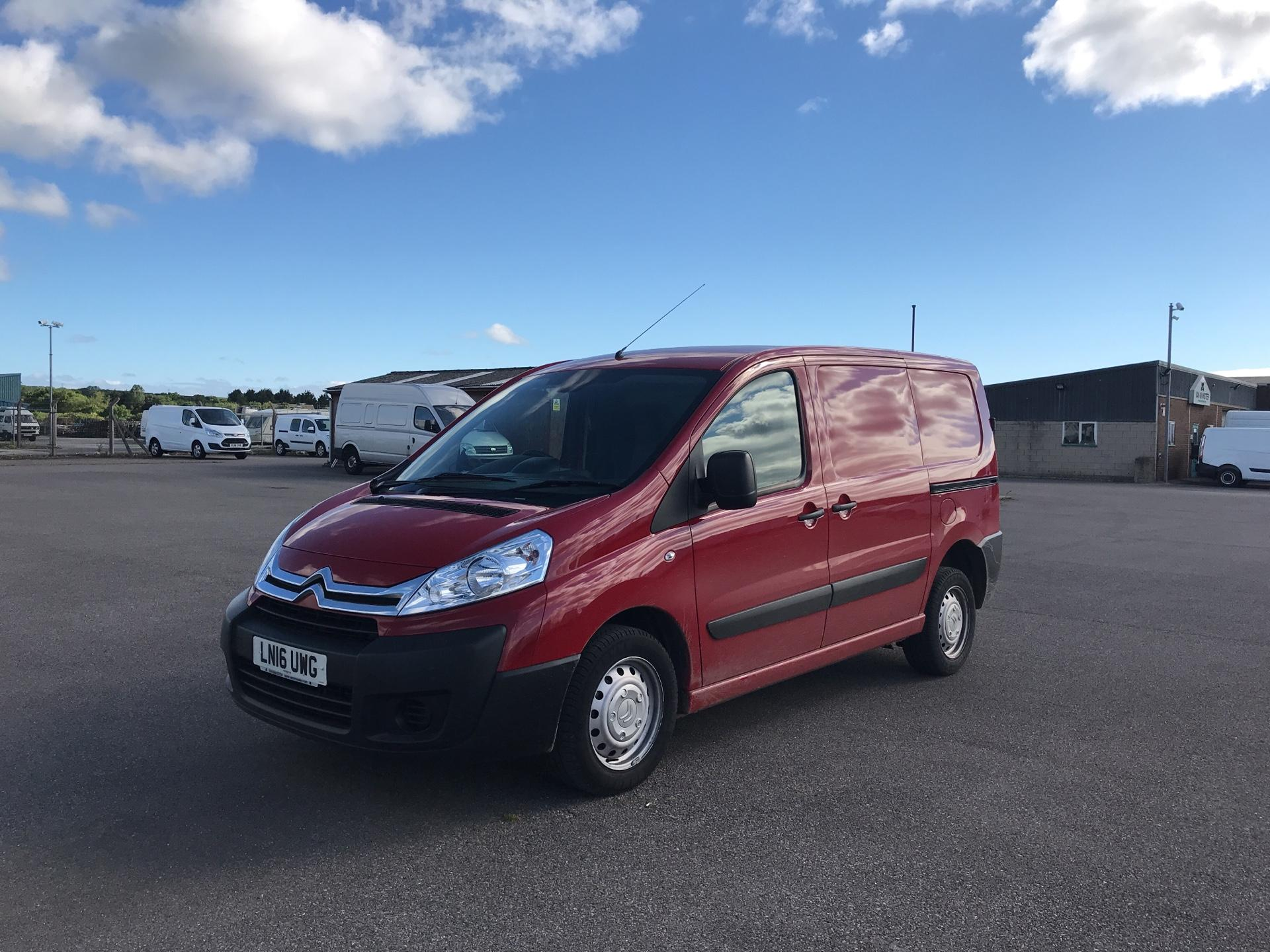 2016 Citroen Dispatch L1 DIESEL 1000 1.6 HDI H1 VAN ENTERPRISE EURO 4/5. AIR CON, SAT NAV (LN16UWG) Image 7