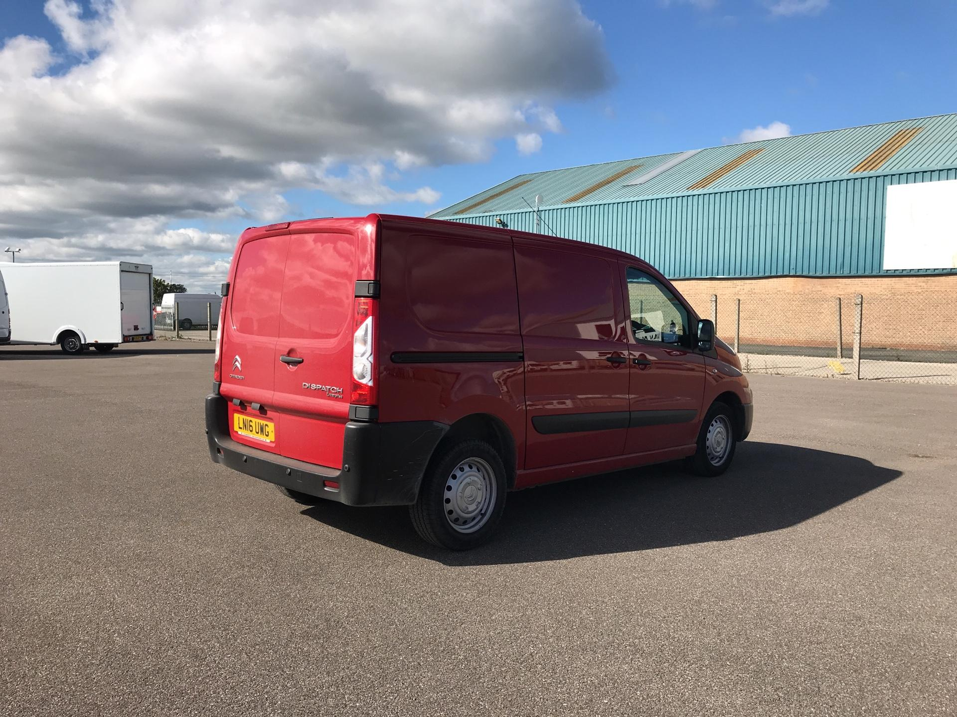 2016 Citroen Dispatch L1 DIESEL 1000 1.6 HDI H1 VAN ENTERPRISE EURO 4/5. AIR CON, SAT NAV (LN16UWG) Image 3