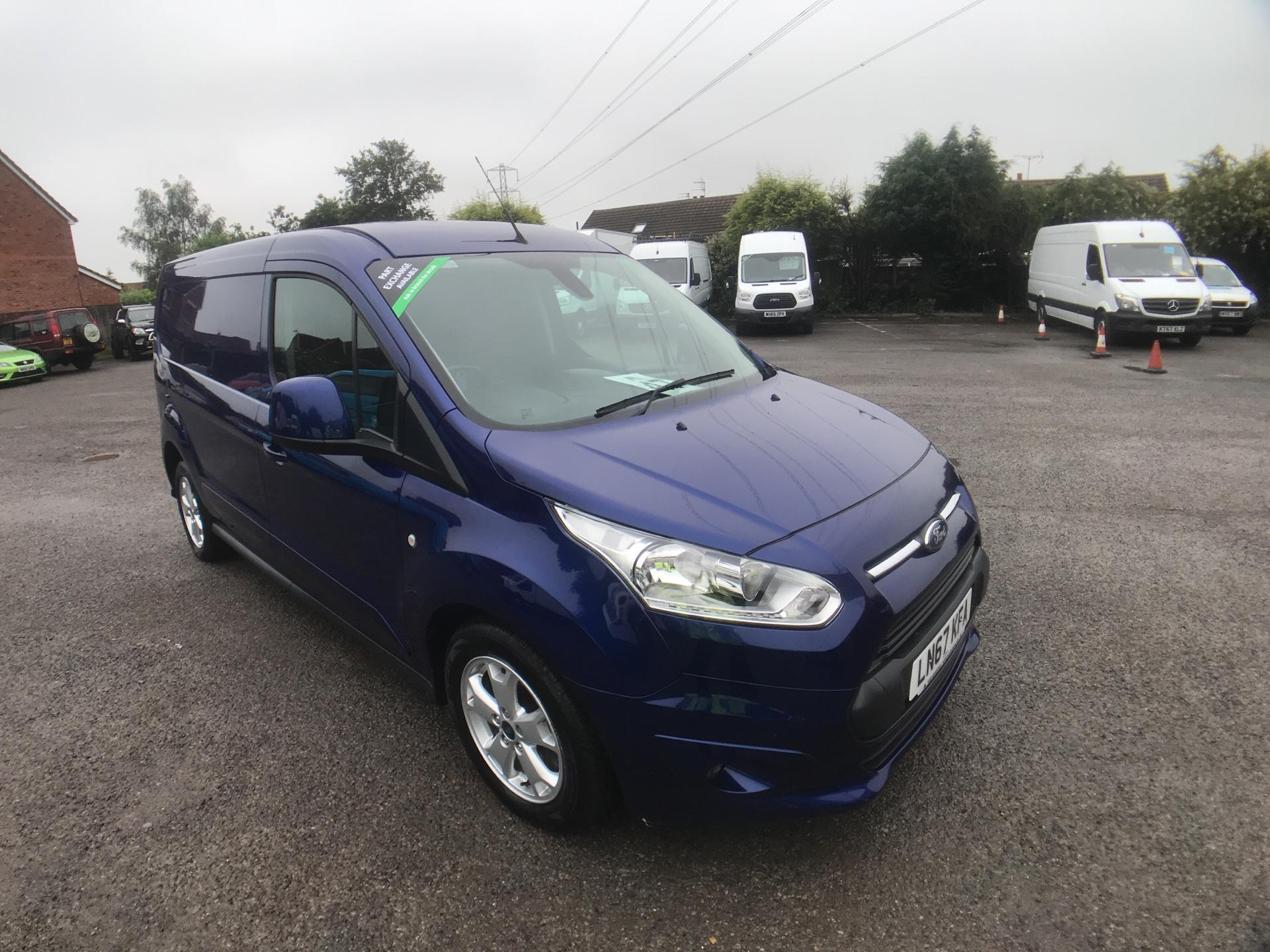2017 Ford Transit Connect 1.5 Tdci L2 120Ps Limited Van EURO 6 (LN67KFA)