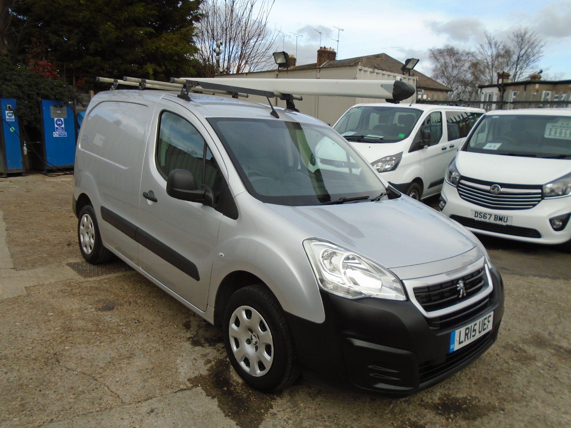 2015 Peugeot Partner 850 1.6 Hdi 92 Professional Van (LR15UEF)