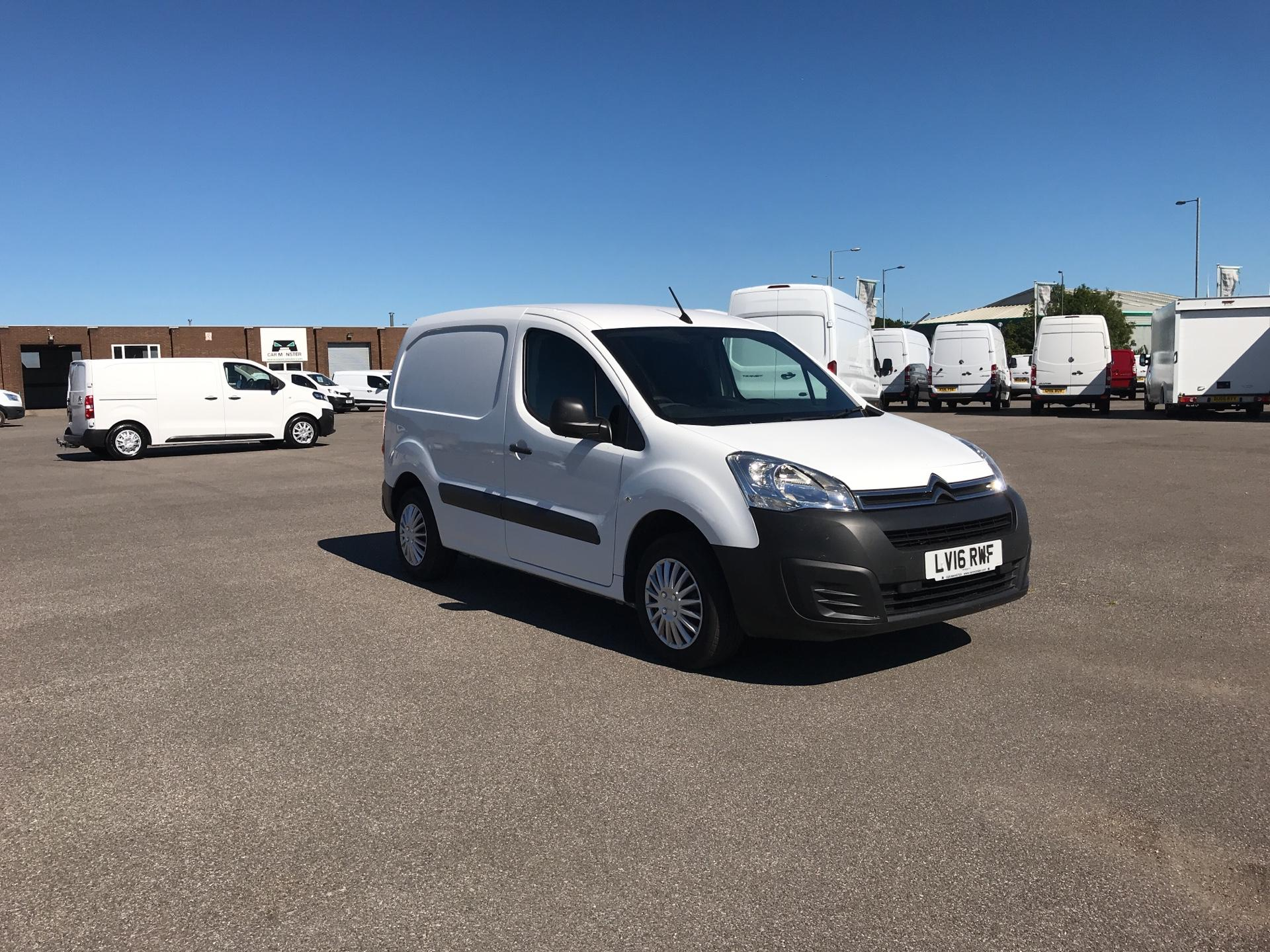 2016 Citroen Berlingo 625 KG 1.6 HDI 75PS ENTERPRISE VAN EURO 4/5 (LV16RWF)