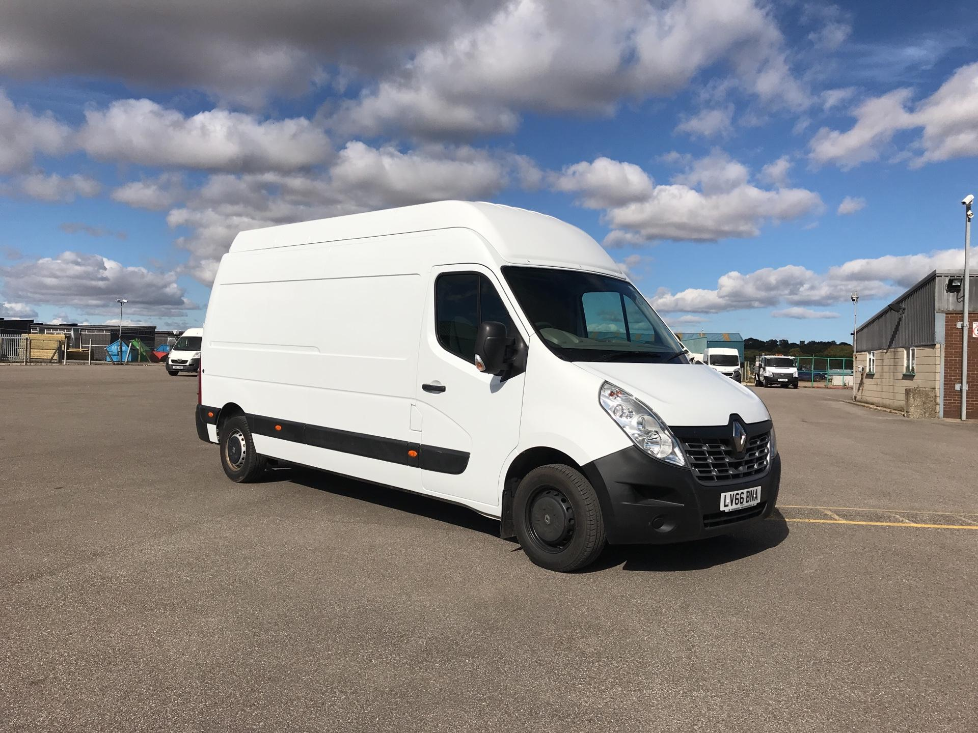 2016 Renault Master LH35 ENERGY DCI 110 BUSINESS HIGH ROOF VAN EURO 6 (LV66BNA)