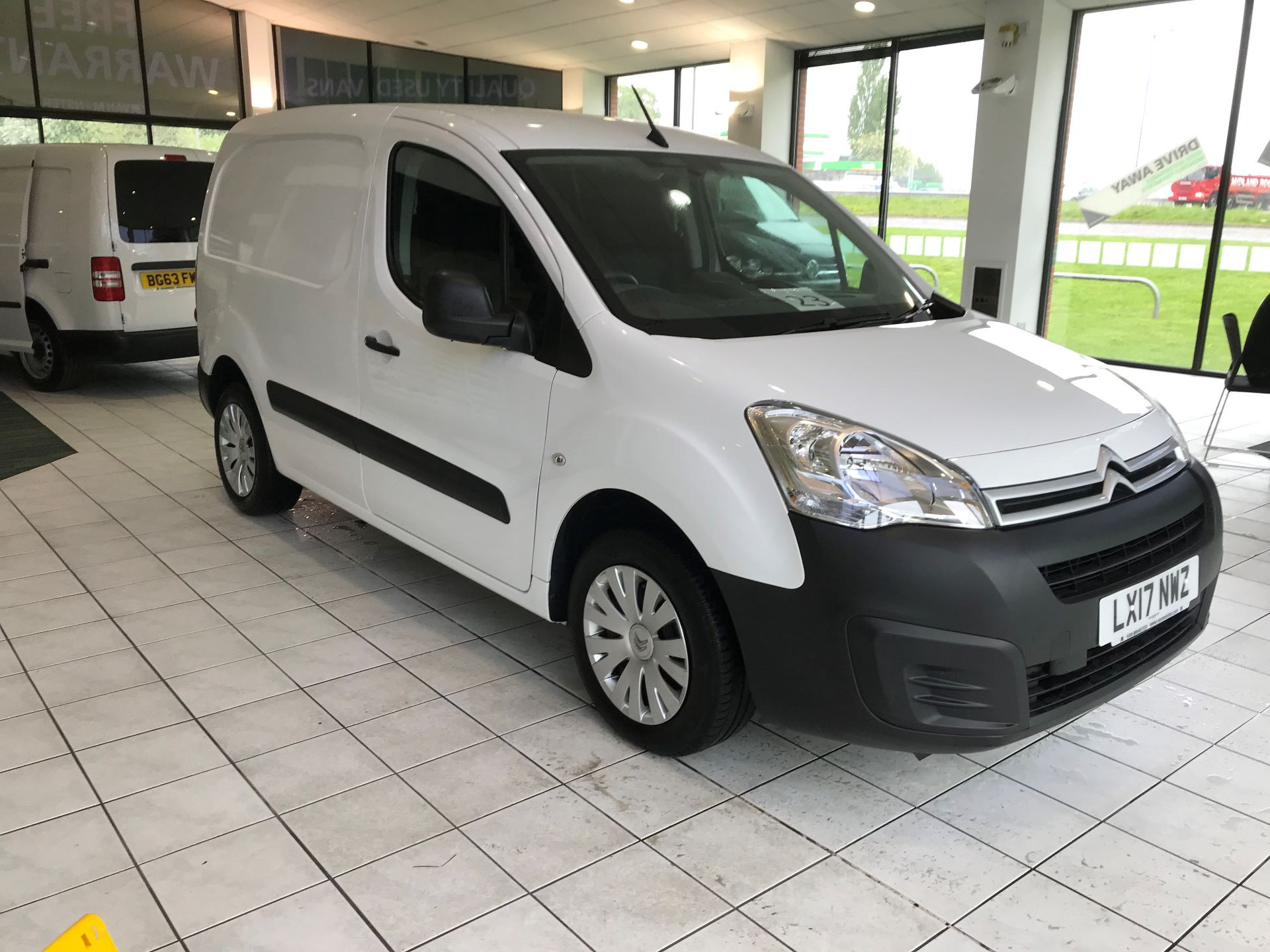 2017 Citroen Berlingo  L1 DIESEL 1.6 BlueHDI 625KG ENTERPRISE 75PS EURO 6 (LX17NWZ)