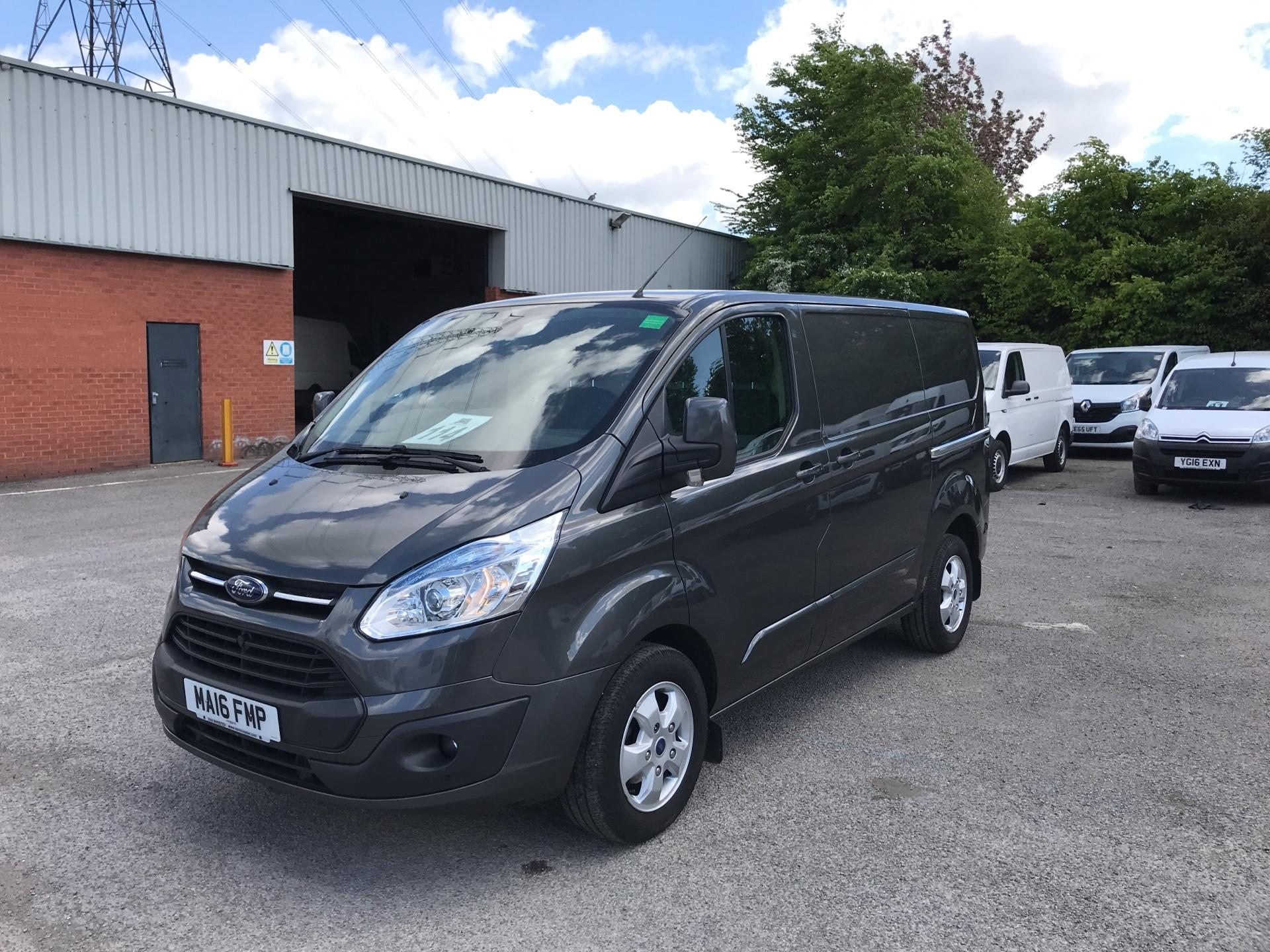 2016 Ford Transit Custom 2.2 Tdci 155Ps Low Roof Limited Van EURO 5 (MA16FMP) Image 7