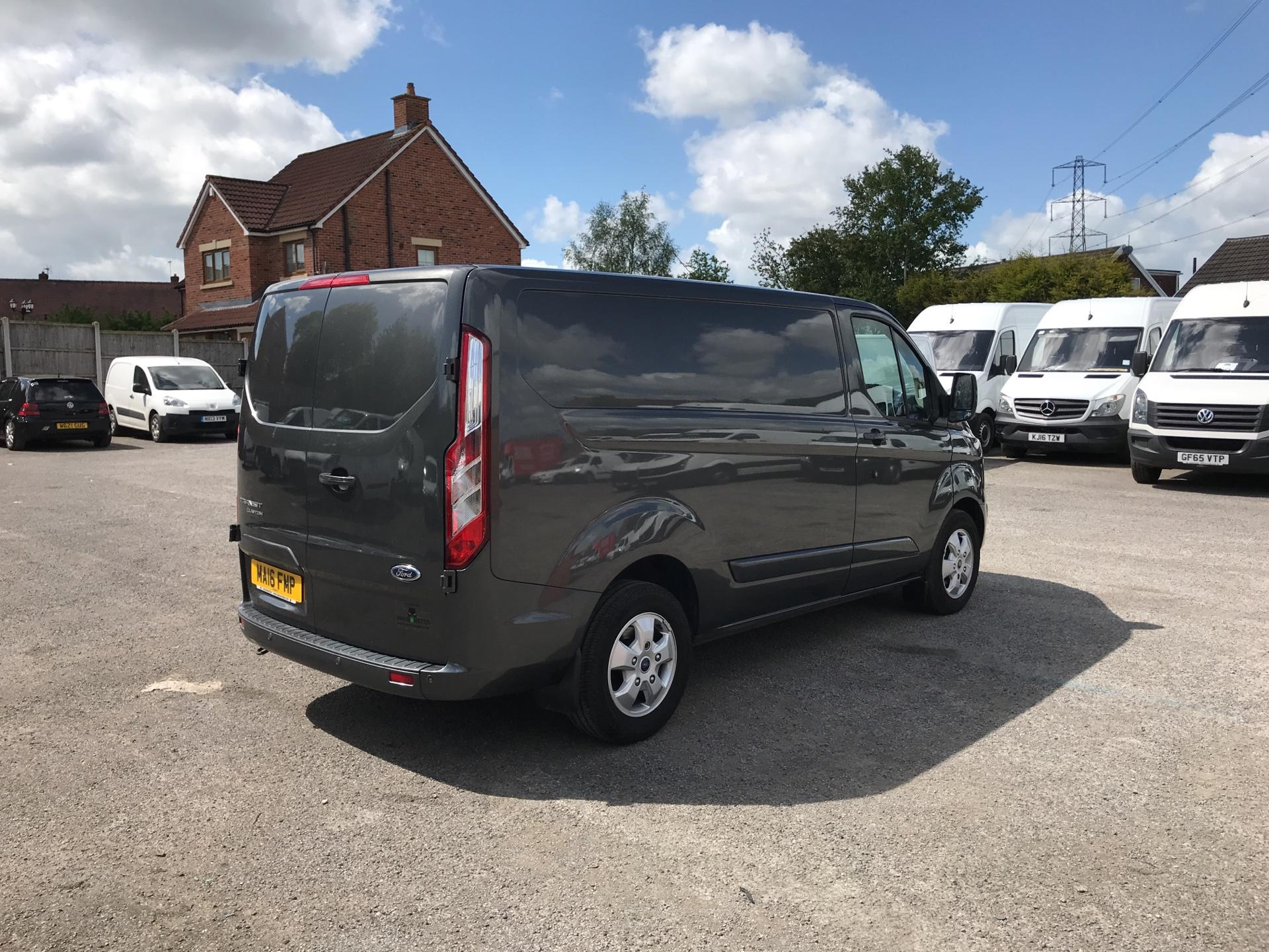 2016 Ford Transit Custom 2.2 Tdci 155Ps Low Roof Limited Van EURO 5 (MA16FMP) Image 3