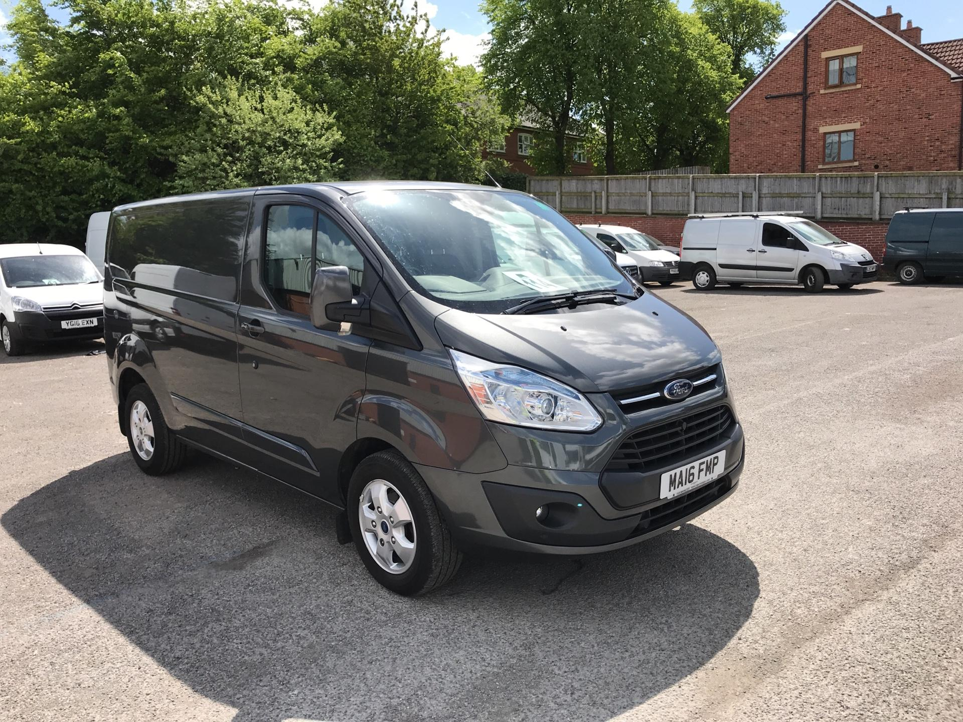 2016 Ford Transit Custom 2.2 Tdci 155Ps Low Roof Limited Van EURO 5 (MA16FMP)