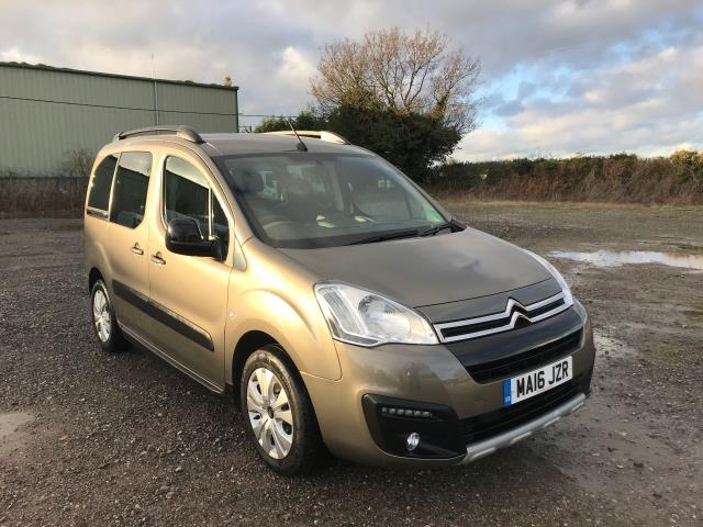 2016 Citroen Berlingo Multispace 1.6 Bluehdi 100 Xtr 5Dr (MA16JZR)