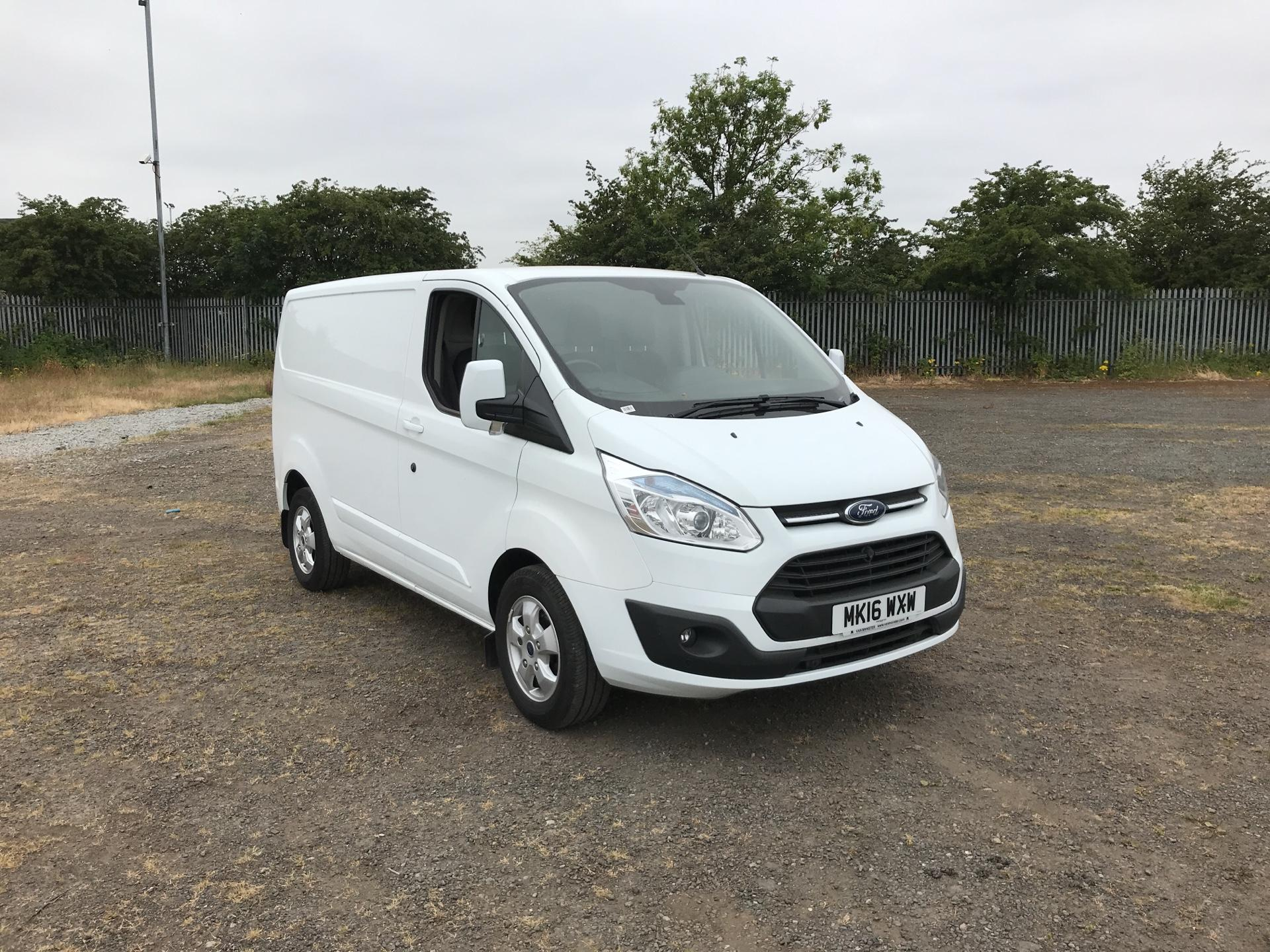 2016 Ford Transit Custom 290 L1 DIESEL FWD 2.2 Tdci 125Ps Low Roof Limited Van EURO 5 (MK16WXW)