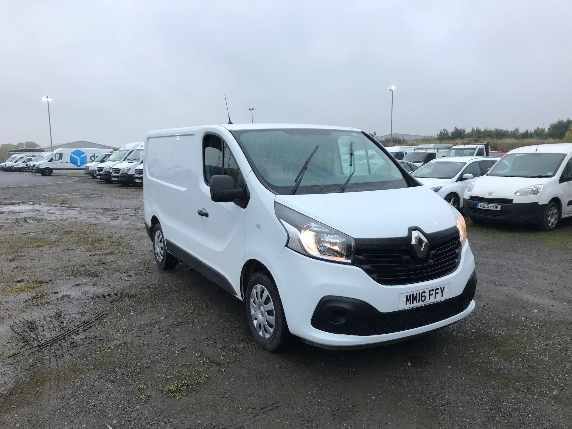 2016 Renault Trafic Sl27 Energy Dci 120 Business+ Van (MM16FFY) Image 1
