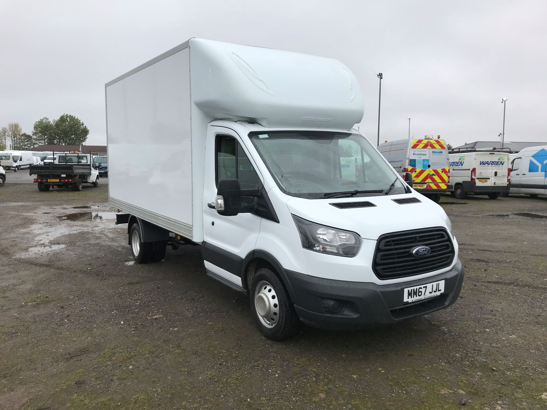 2018 Ford Transit 2.0 Tdci 130Ps One Stop Luton Van (MM67JJL)
