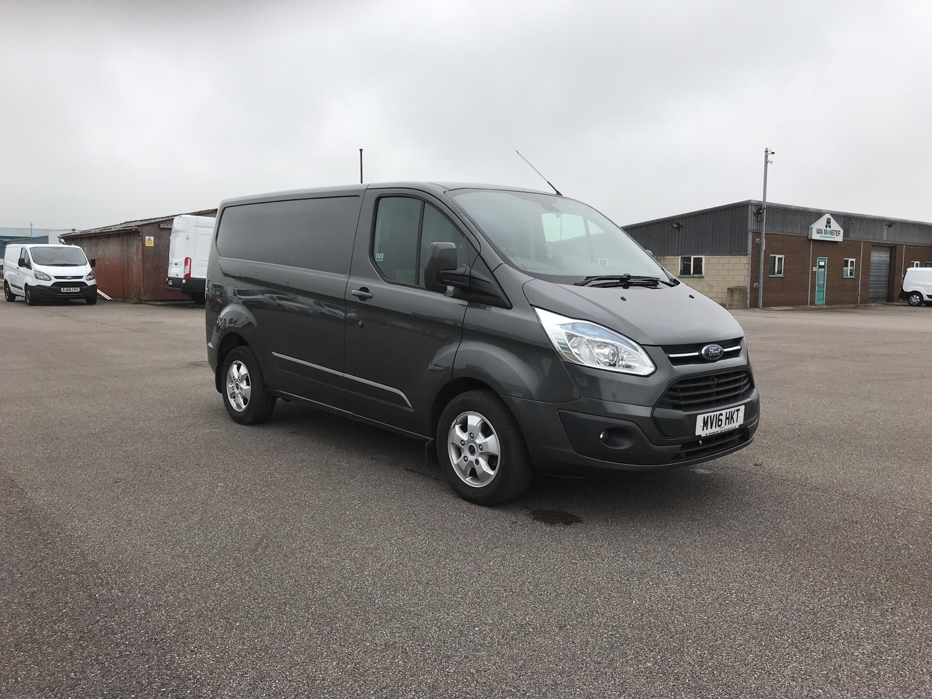2016 Ford Transit Custom 270 L1 DIESEL FWD 2.2 TDCI 125PS LOW ROOF LIMITED VAN EURO 5  (MV16HKT)