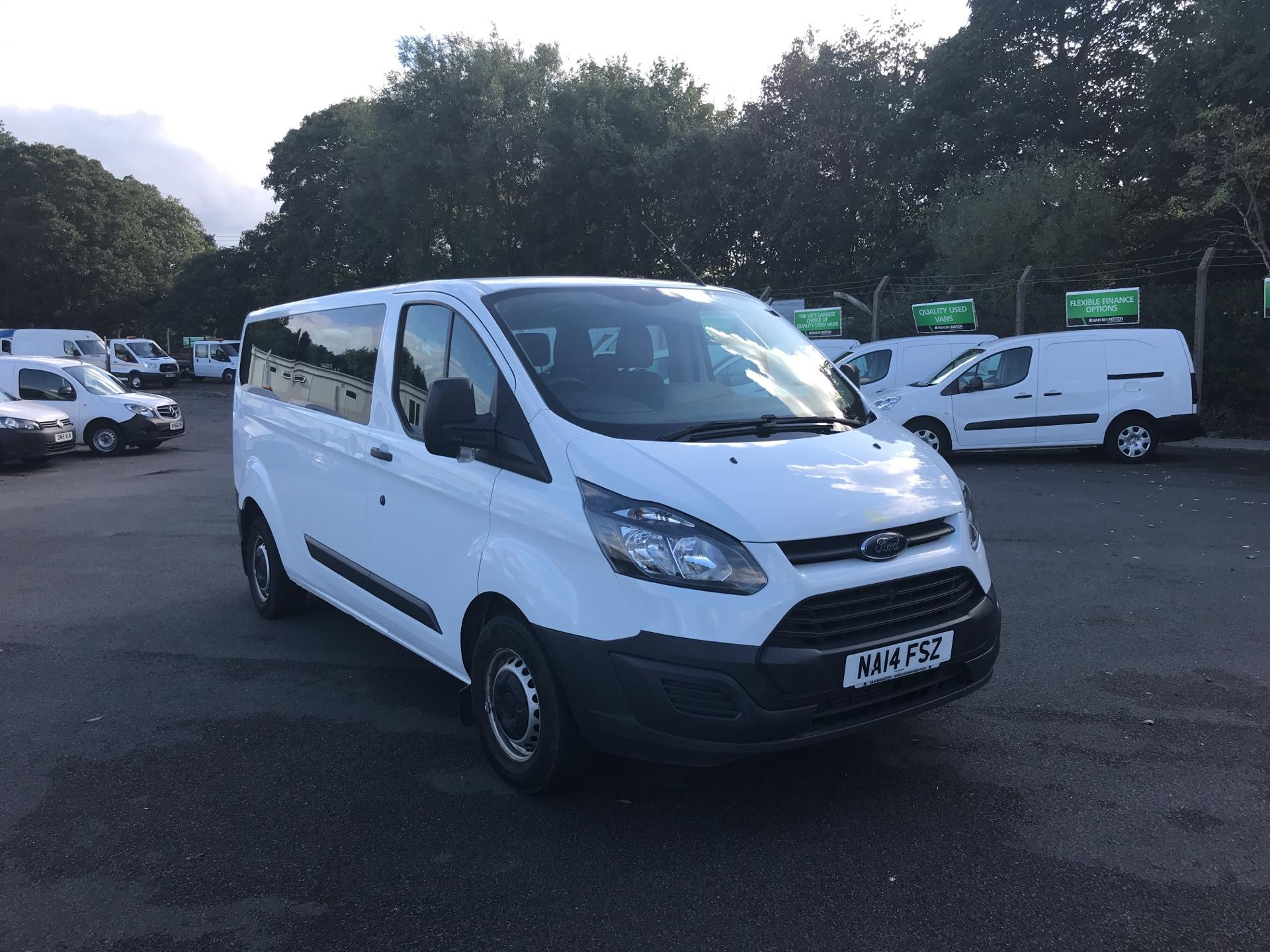 2014 Ford Transit Custom 310  L2 DIESEL FWD 2.2 TDCI 125PS LOW ROOF KOMBI VAN EURO 5 *VALUE RANGE VEHICLE - CONDITION REFLECTED IN PRICE* (NA14FSZ)