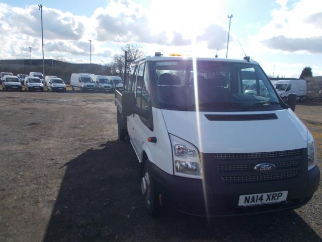 2014 Ford Transit D/Cab Chassis Tdci 100Ps [Drw] Euro 5 (NA14XRP)