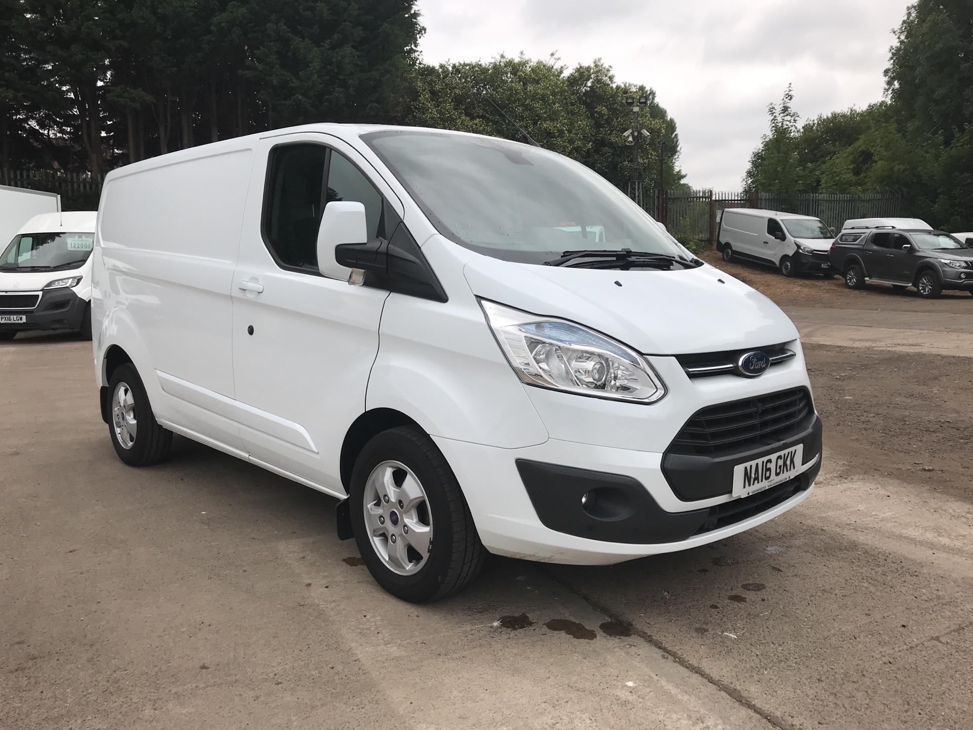 2016 Ford Transit Custom 270 L1 DIESEL FWD 2.2  TDCI 125PS LOW ROOF LIMITED VAN EURO 5 (NA16GKK) Image 1