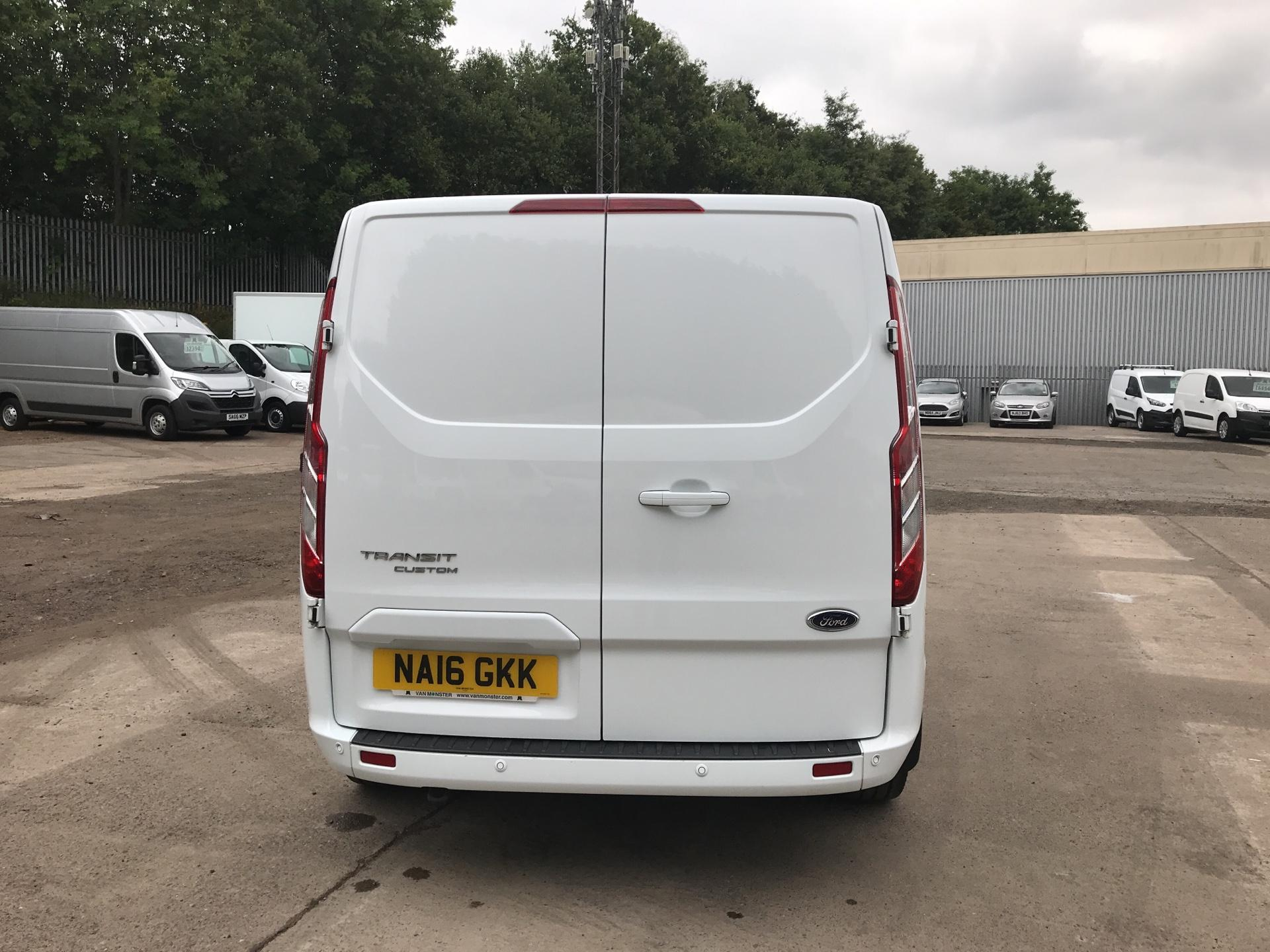 2016 Ford Transit Custom 270 L1 DIESEL FWD 2.2  TDCI 125PS LOW ROOF LIMITED VAN EURO 5 (NA16GKK) Image 4