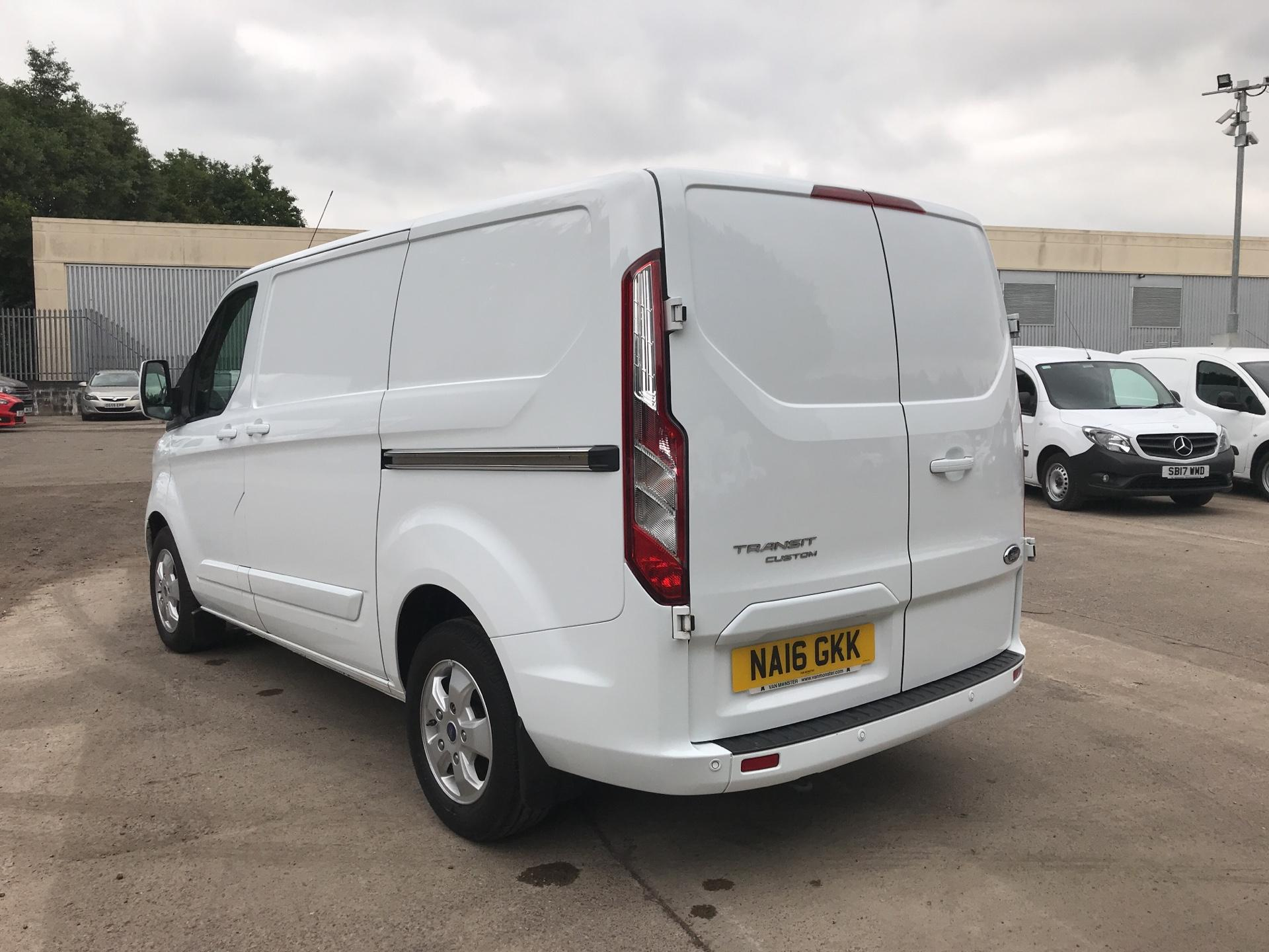 2016 Ford Transit Custom 270 L1 DIESEL FWD 2.2  TDCI 125PS LOW ROOF LIMITED VAN EURO 5 (NA16GKK) Image 5