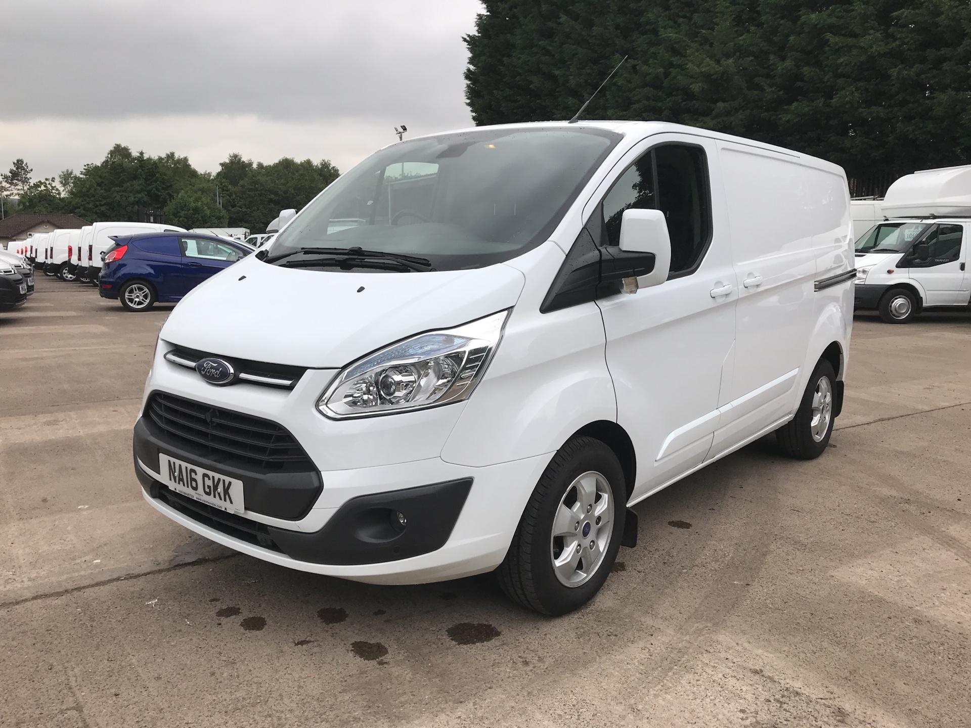 2016 Ford Transit Custom 270 L1 DIESEL FWD 2.2  TDCI 125PS LOW ROOF LIMITED VAN EURO 5 (NA16GKK) Image 7