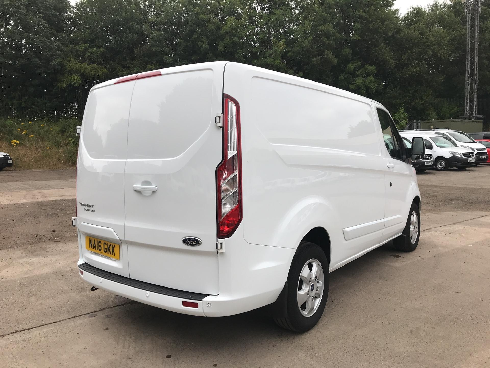 2016 Ford Transit Custom 270 L1 DIESEL FWD 2.2  TDCI 125PS LOW ROOF LIMITED VAN EURO 5 (NA16GKK) Image 3