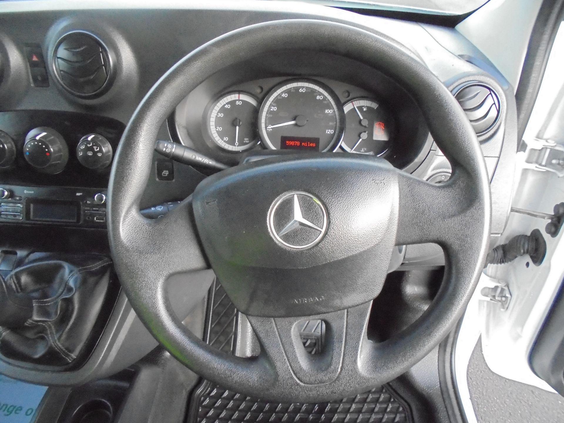 2016 Mercedes-Benz Citan 109 Cdi Van Twin SLD (NA16OVX) Image 11