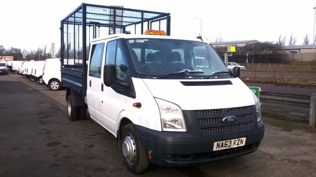 2013 Ford Transit D/Cab Chassis Tdci 100Ps [Drw] Euro 5 (NA63RZN)