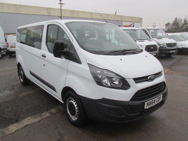 2014 Ford Transit Custom 310 L2 H1 2.2 Tdci 125Ps Kombi 9 Seater  (NA64CDF)
