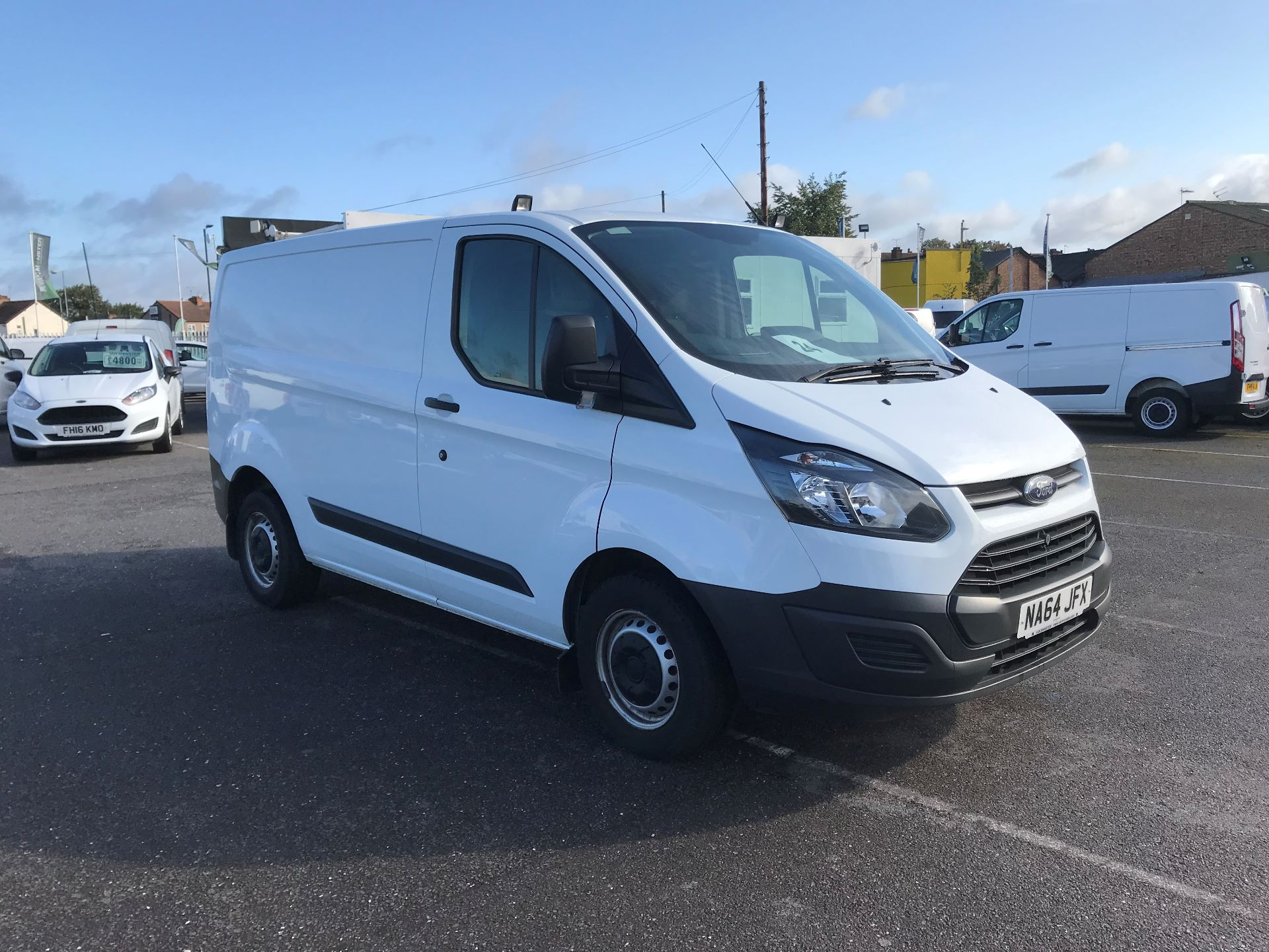 2014 Ford Transit Custom 290 L1 DIESEL FWD 2.2 TDCI 100PS LOW ROOF VAN EURO 5  (NA64JFX)