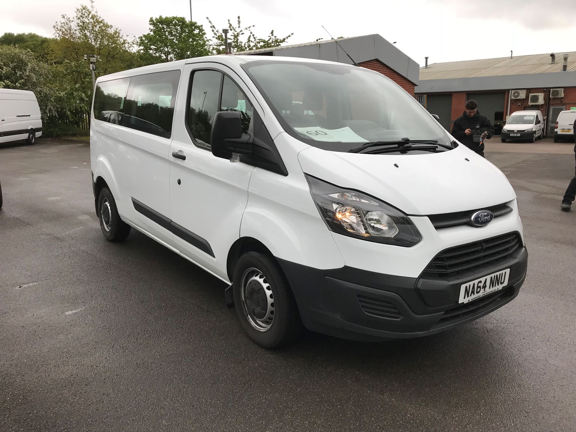 2014 Ford Transit Custom 310  L2 DIESEL FWD 2.2 TDCI 125PS LOW ROOF KOMBI VAN EURO 5 VAT INC (NA64NNU)