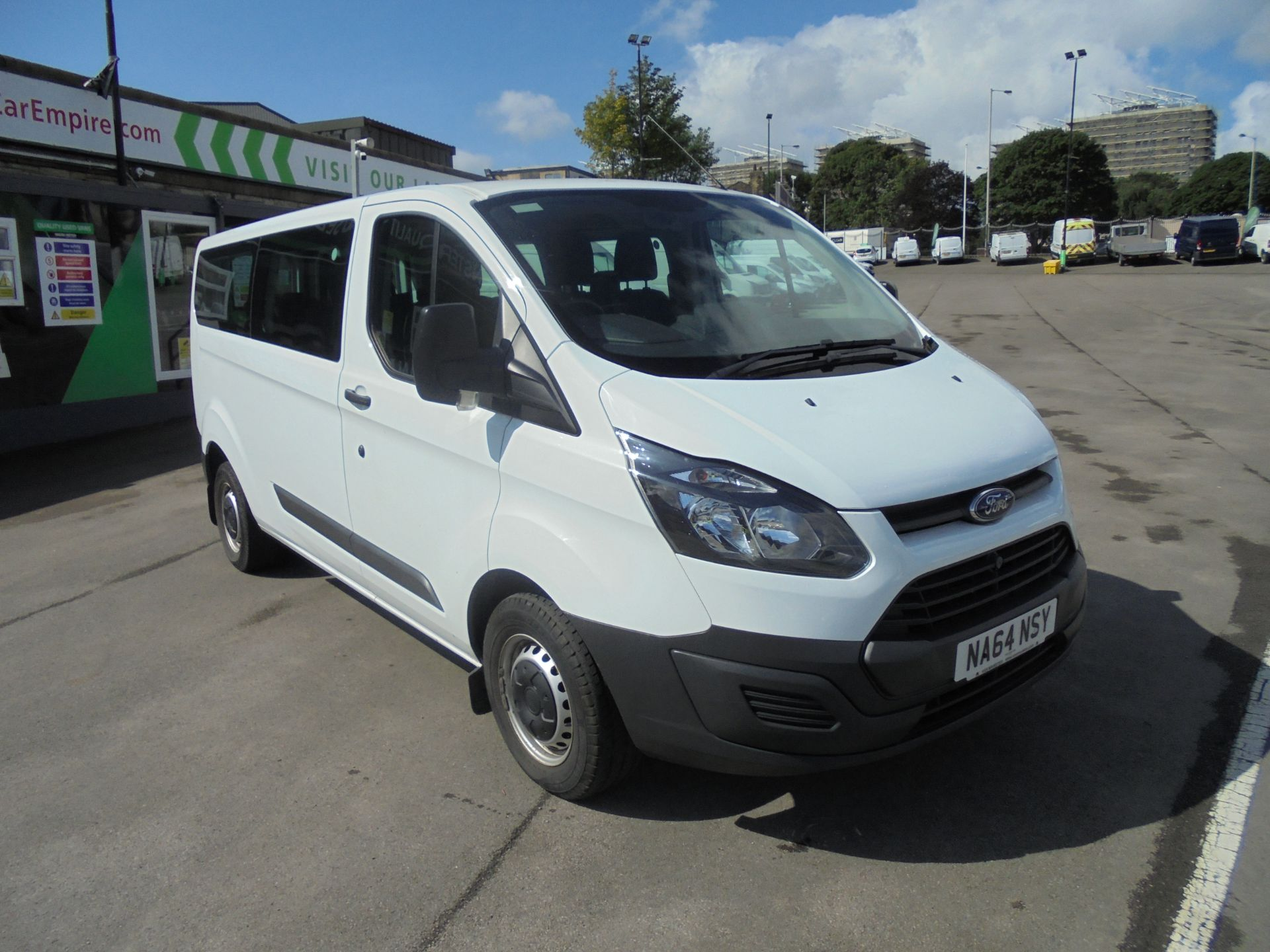 2014 Ford Transit Custom 2.2 Tdci 125Ps Low Roof Kombi Van 9 seater (NA64NSY)