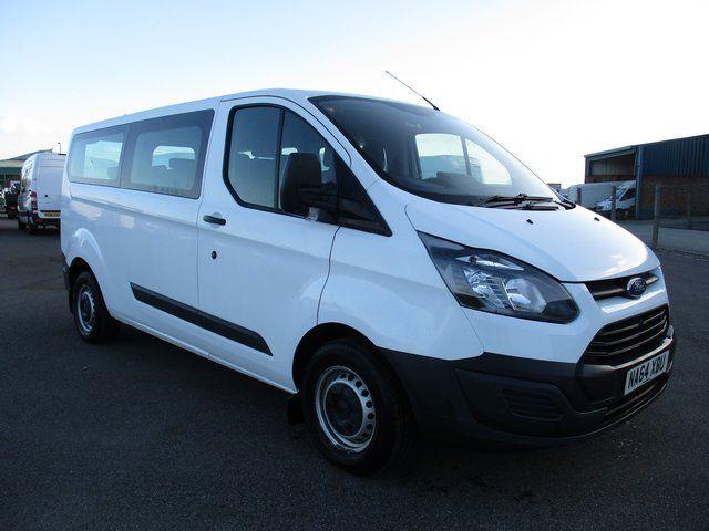 2014 Ford Transit Custom 2.2 LWB LOW ROOF 310 125  PS KOMBI VAN. VAT INCLUSIVE (NA64XBU)
