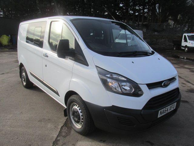 2014 Ford Transit Custom 290 L1 H1 2.2 Tdci 100Ps Double Cab Van (NA64XFU)