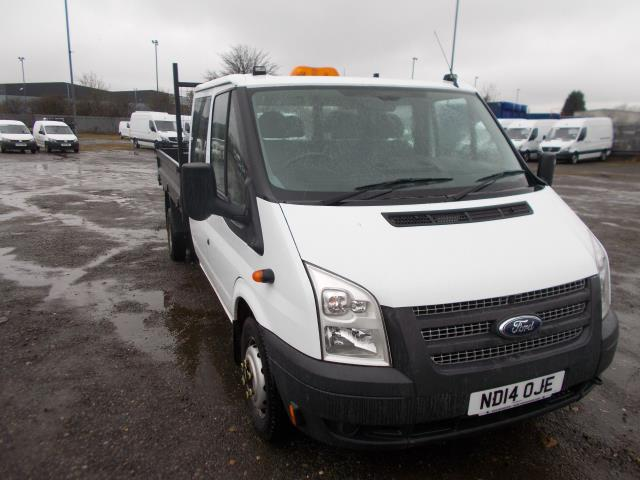 2014 Ford Transit D/Cab Chassis Tdci 100Ps [Drw] Euro 5 (ND14OJE)