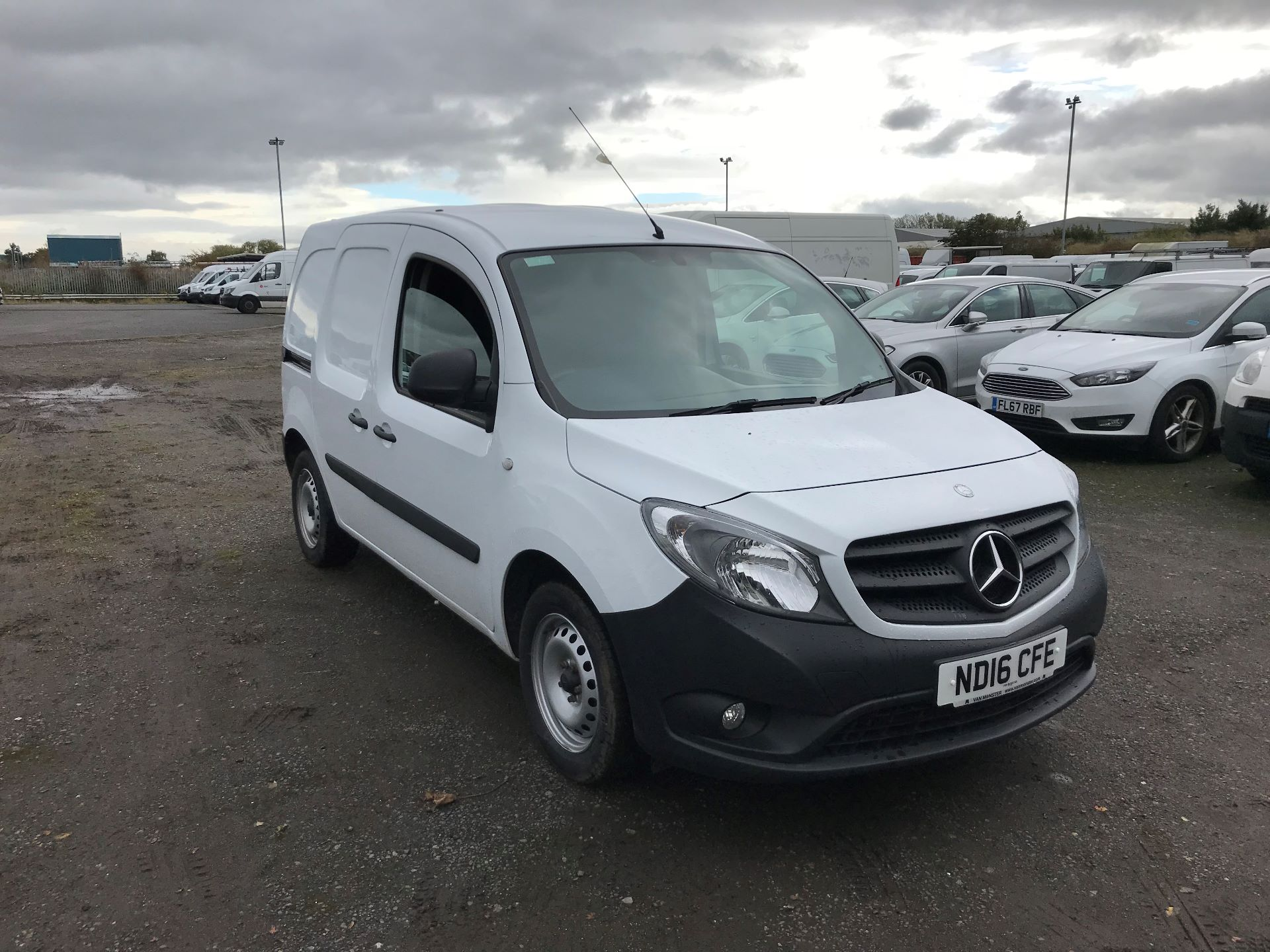 2016 Mercedes-Benz Citan 109Cdi Van (ND16CFE)