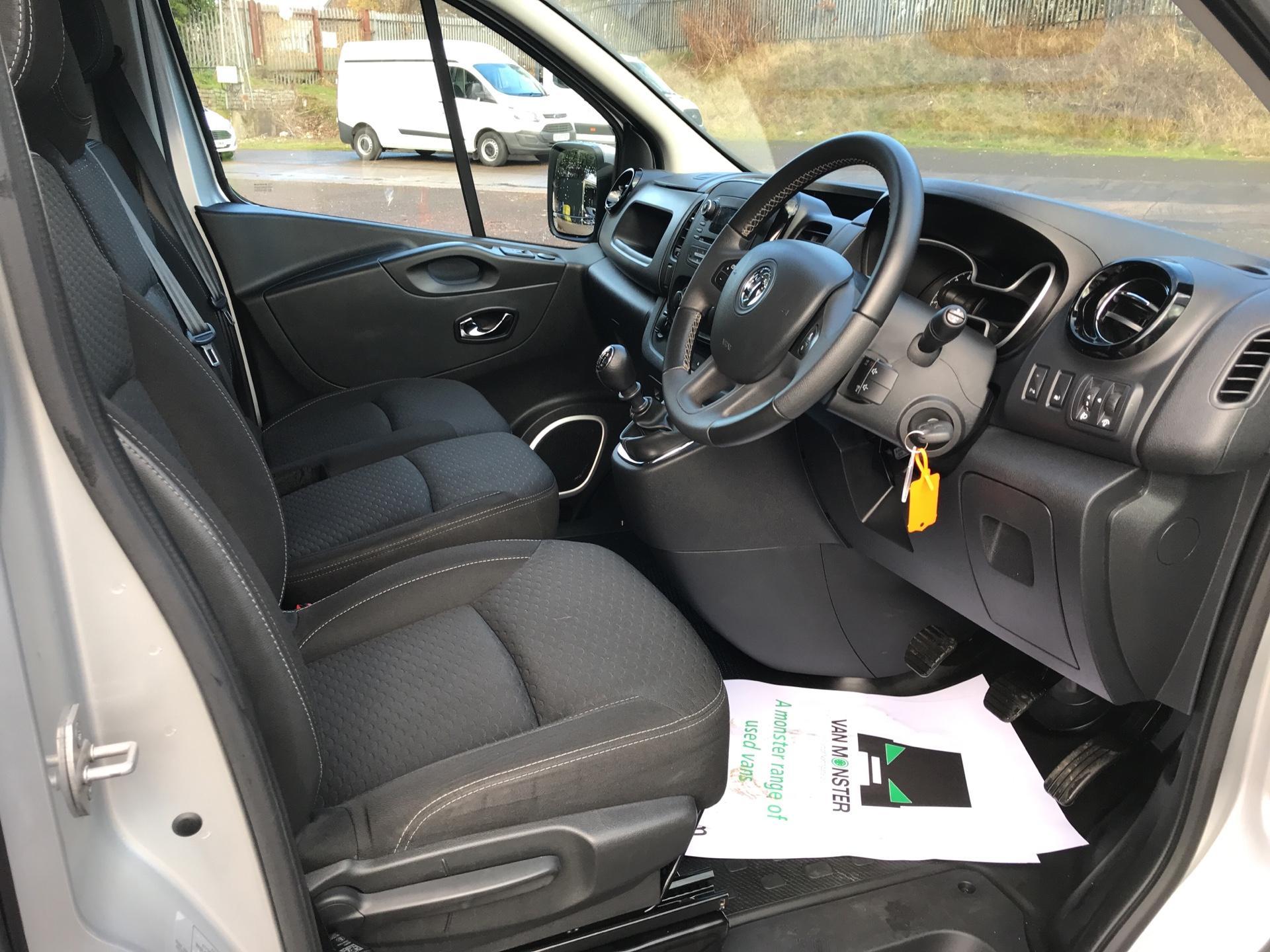 2017 Vauxhall Vivaro L1 H1 2700 1.6 CDTI 120PS SPORTIVE EURO 6 (ND17UNH) Image 9