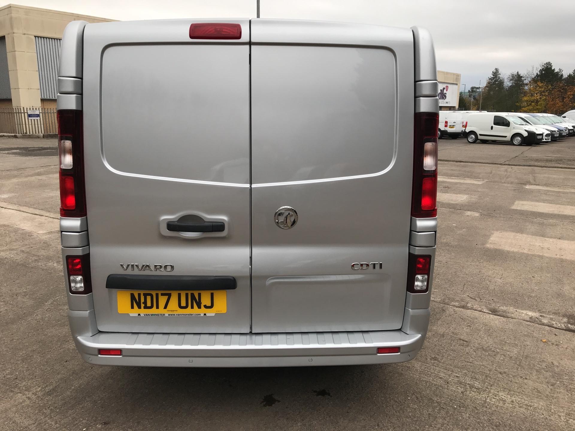 2017 Vauxhall Vivaro L1 H1 2700 1.6 CDTI 120PS SPORTIVE EURO 6 (ND17UNJ) Image 4