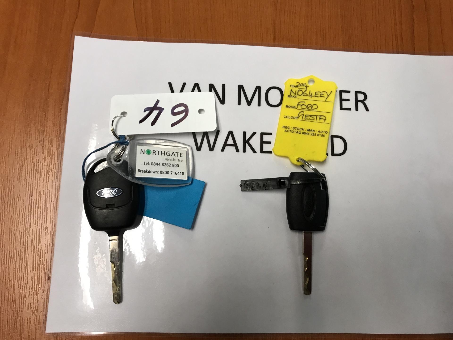 2014 Ford Fiesta  DIESEL 1.5 TDCI VAN EURO 5/6 (ND64EEY) Image 16