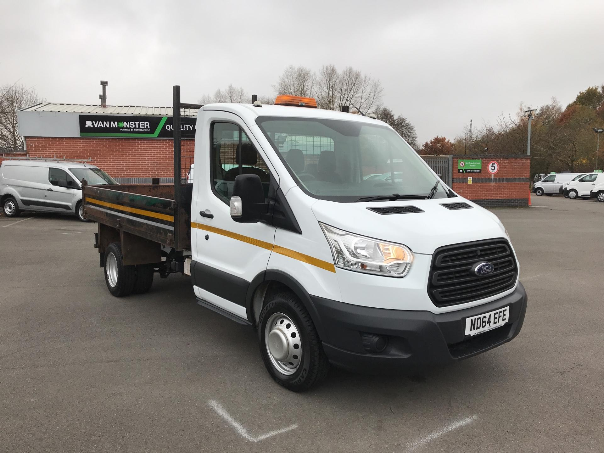 2015 Ford Transit 2.2 Tdci 125Ps single cab tipper *please note this is a value van and the condition is reflected in the price* (ND64EFE)