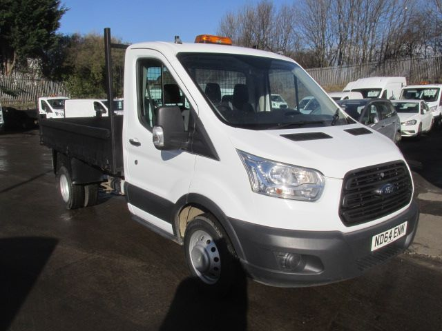 2015 Ford Transit 350 L2 2.2 Tdci 125Ps S/Cab Tipper  (ND64ENN)