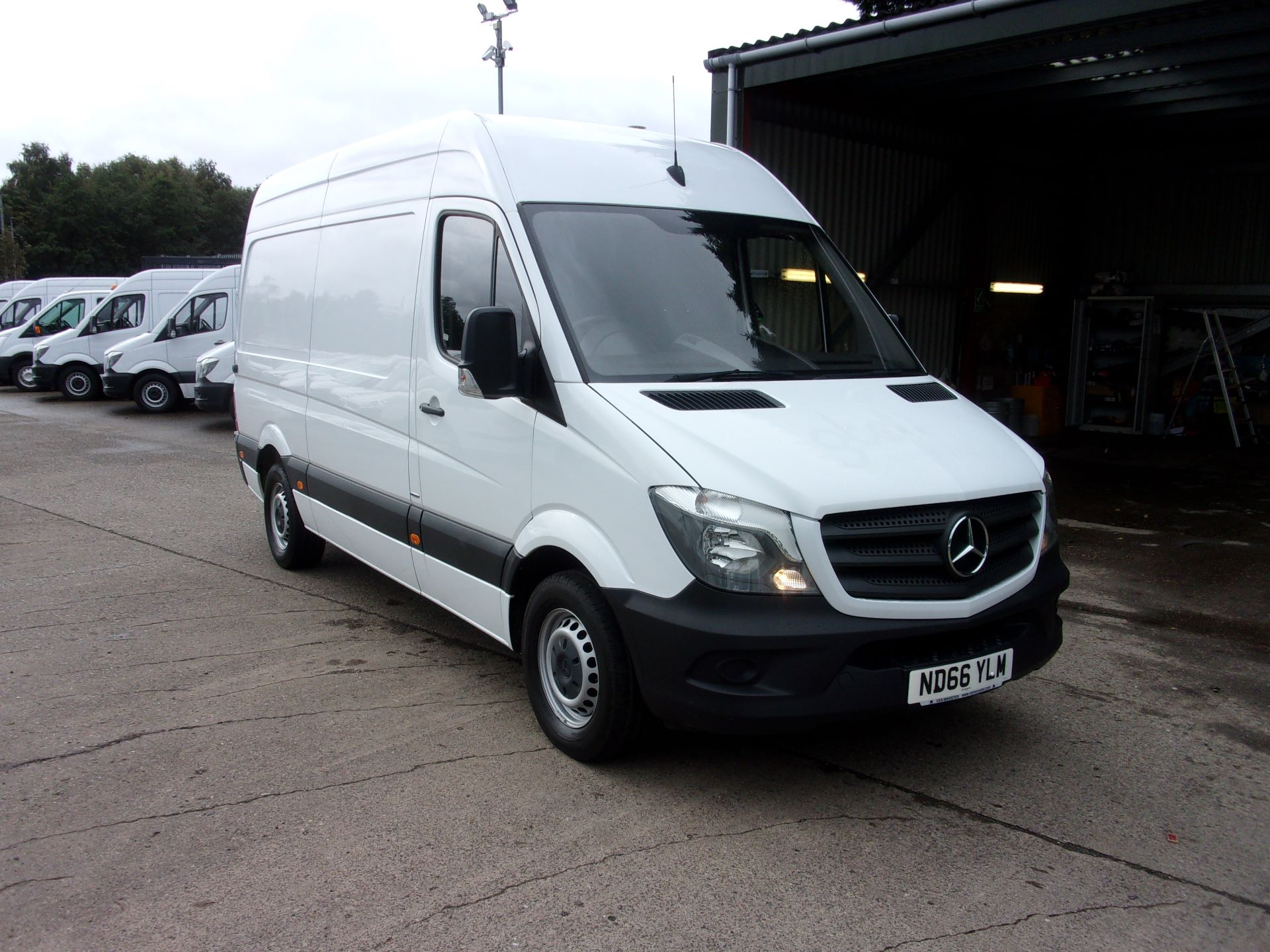 2016 Mercedes-Benz Sprinter 314 CDI MWB HIGH ROOF EURO 6 (ND66YLM)