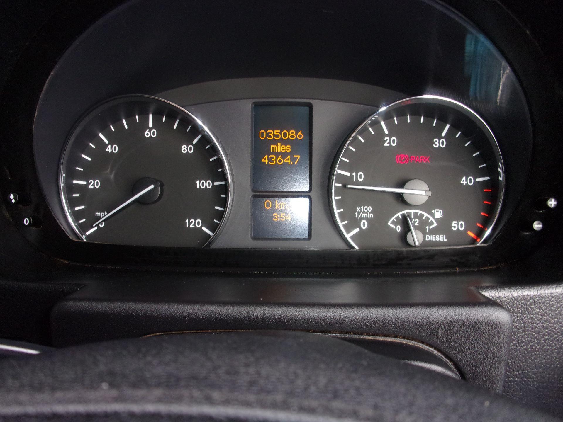 2016 Mercedes-Benz Sprinter 314 CDI MWB HIGH ROOF EURO 6 (ND66YLM) Image 6