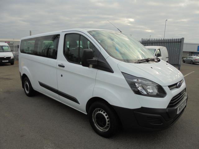 2014 Ford Transit Custom 310  L2 DIESEL FWD 2.2 TDCI 125PS LOW ROOF KOMBI VAN EURO 5 VAT INC (NG14DTK)