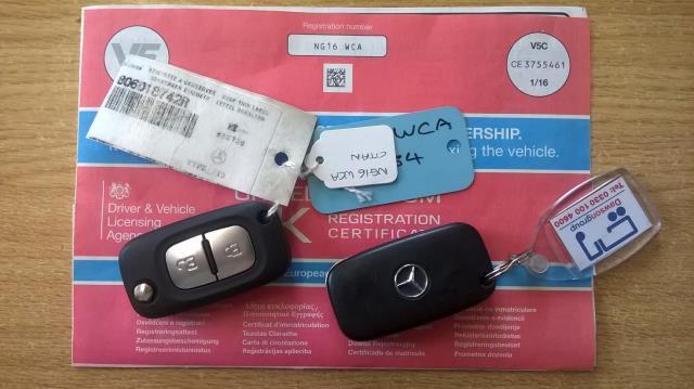 2016 Mercedes-Benz Citan LWB 109 CDI VAN EURO 6 (NG16WCA) Image 22