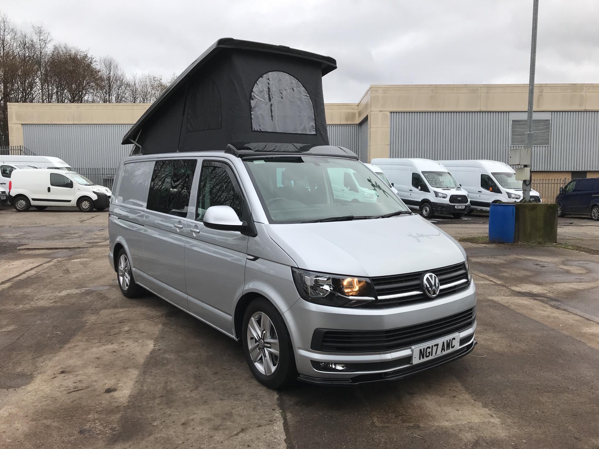 2017 Volkswagen Transporter T32 LWB 2.0TDI BMT 204PS HIGHLINE KOMBI VAN EURO 6 (NG17AWC)