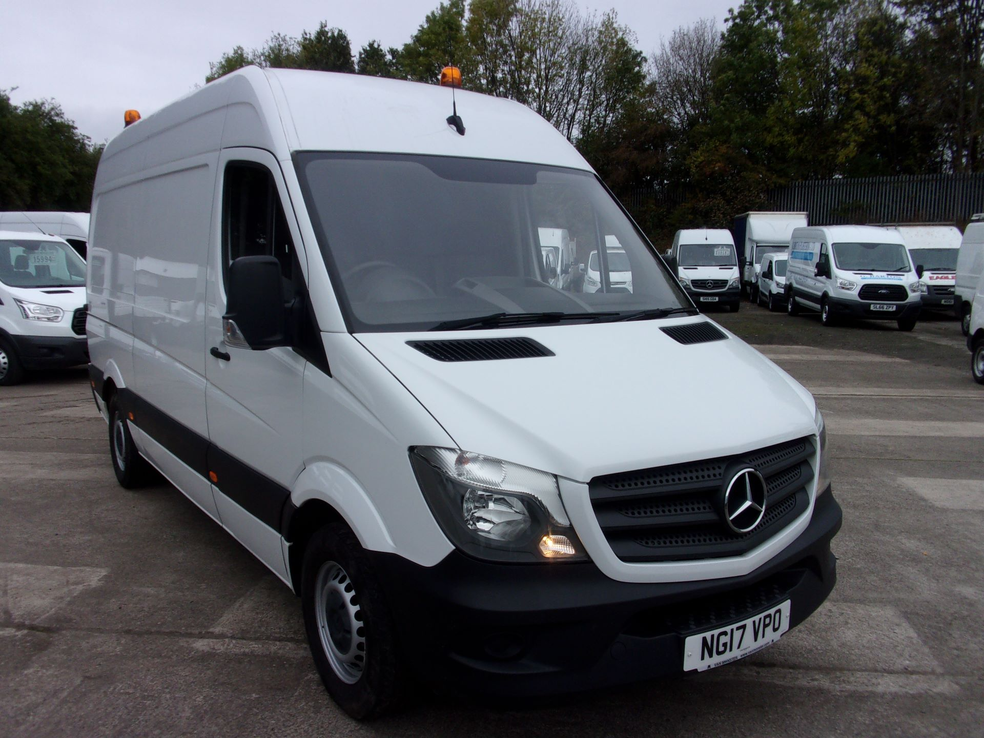 2017 Mercedes-Benz Sprinter 314 CDI MWB HIGH ROOF EURO 6 (NG17VPO)