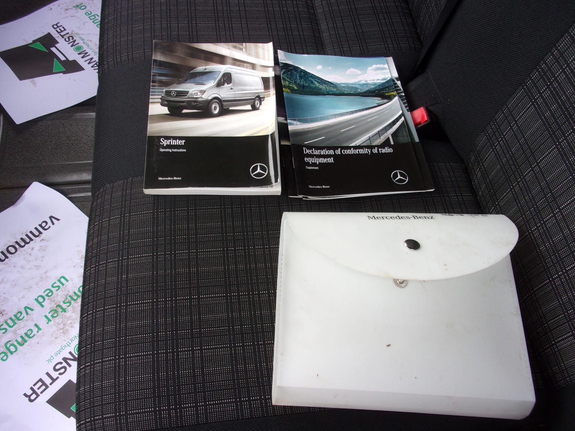 2017 Mercedes-Benz Sprinter 314 CDI MWB HIGH ROOF EURO 6 (NG17VPO) Image 20